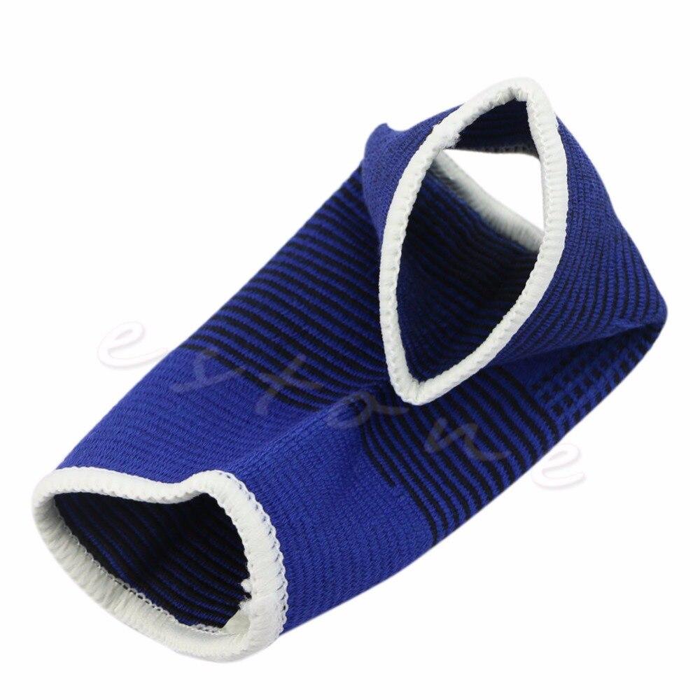 2 pcs Elastic Ankle Brace Support Pad Guard Achilles Tendon Sports Strap Foot
