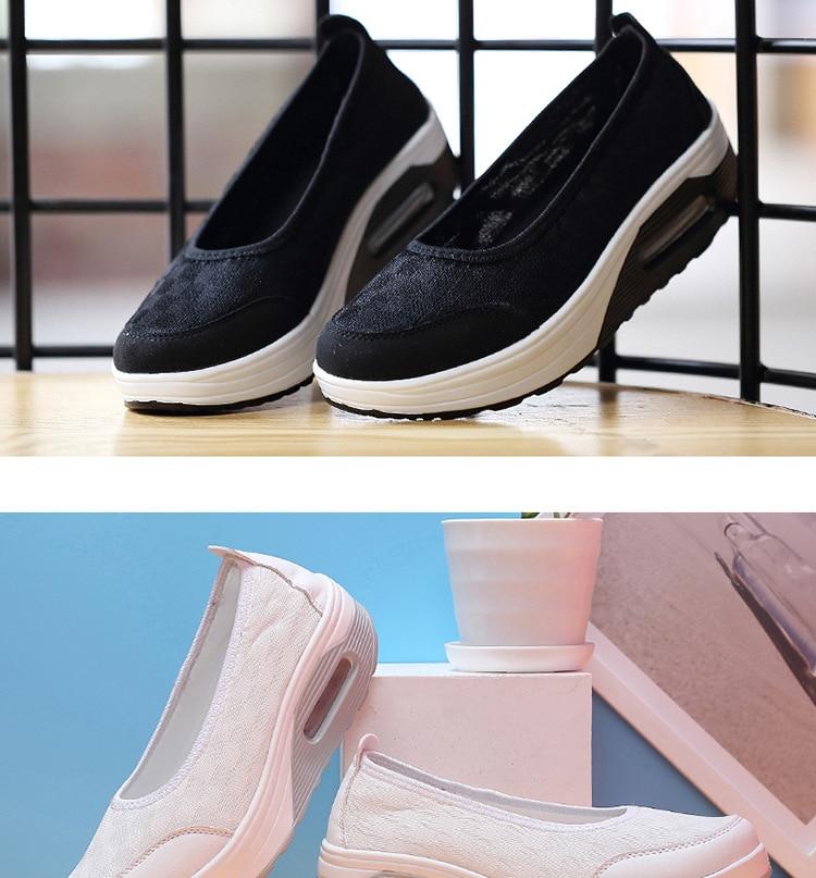 Emagrecimento Sapatos Sapatos de Plataforma 2019 Verão