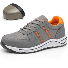 DAOKFPO Men Safety Boots Breathable Shoes Unisex Anti-smashing steel toe caps Anti-piercing Sneaker mens work Shoes NNT-38 new exhibition men fashion safety shoes breathable flying woven anti smashing steel toe caps anti piercing fiber mens work shoes