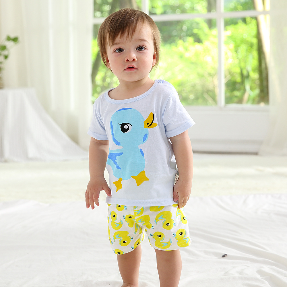 Boys Cartoon Print T Shirts Shorts Sets Summer Baby Boy Girl Cotton Clothes Sets Children High Quality T Shirt Kids Tops Shorts 4 12y 2017 new boys t shirt at cartoon children t shirts for boys girls tees cotton tops kids clothes and trousers