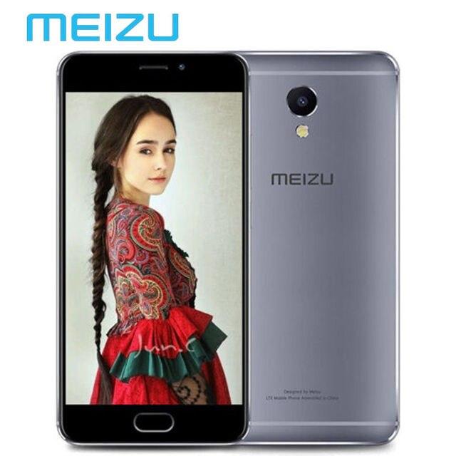 """Оригинальный Meizu M5 Примечание Глобальной прошивки 4 ГБ RAM 64 ГБ ROM Мобильного Телефона Helio P10 Octa Ядро 5.5 """"1920x1080 4000 мАч OTA Обновление M621Q"""