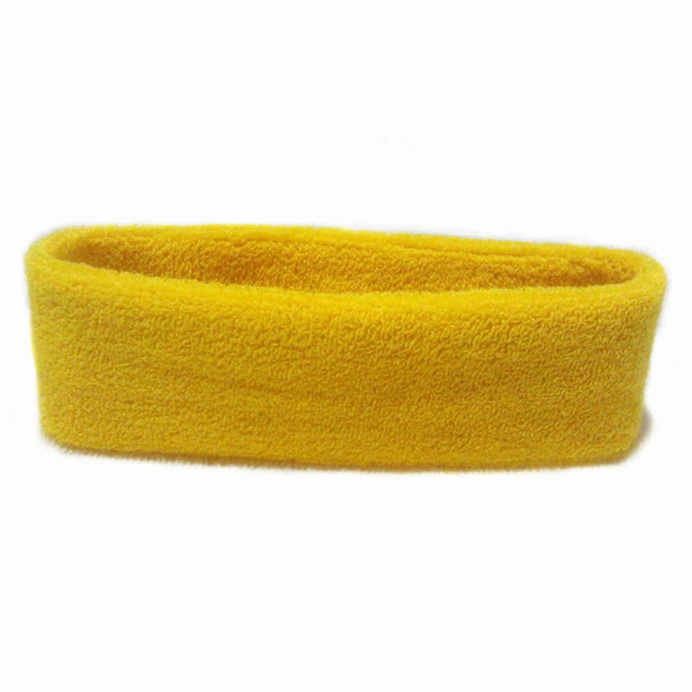 ผ้าฝ้ายผู้หญิงผู้ชายกีฬาเหงื่อ Sweatband แถบคาดศีรษะโยคะ/ยิมยืดผมหัวปรับ Bboy หมวกกลางแจ้ง Sun