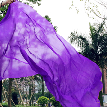 2016 high quality cheap dance veils women s sexy 100 silk belly dance veil wholesale purple