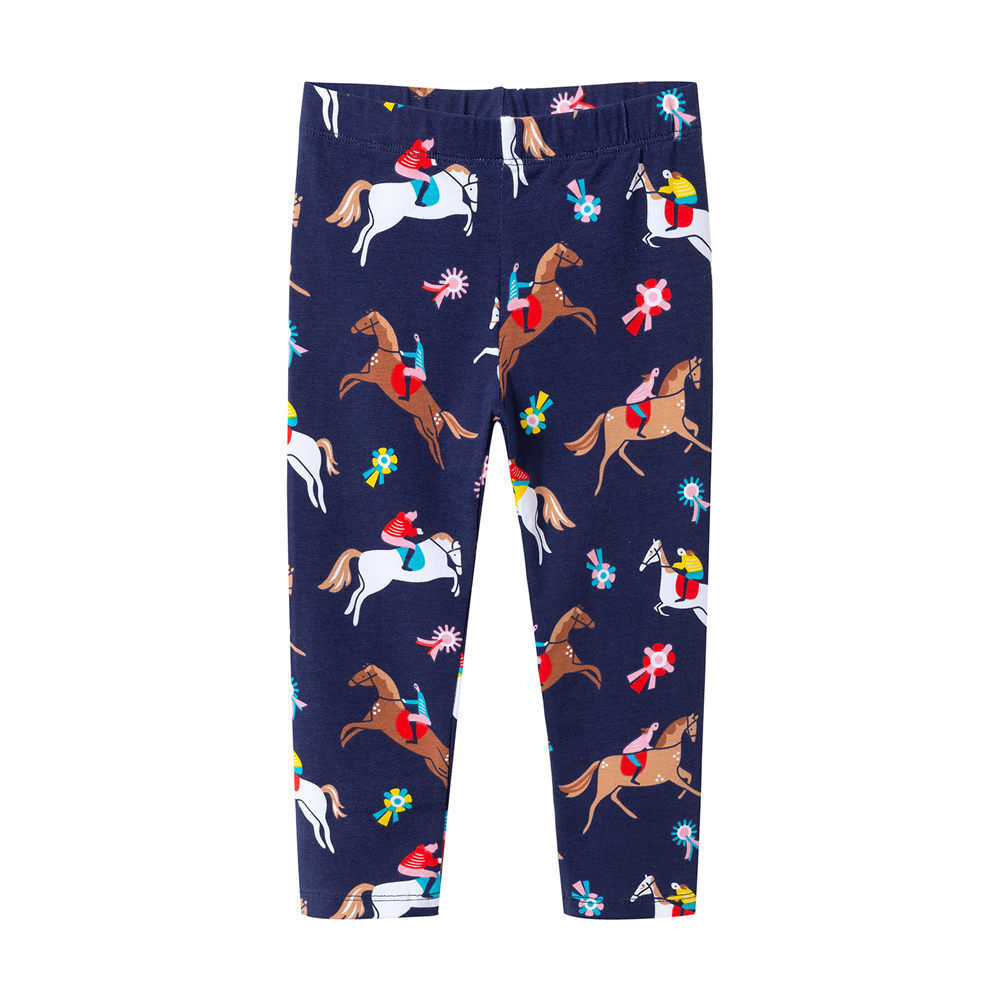 Jumping Meters Watermelon Blue Printed Baby Girls Leggings Animal Kids 100% Cotton 2018 Brand Children Trousers Pants Clothes