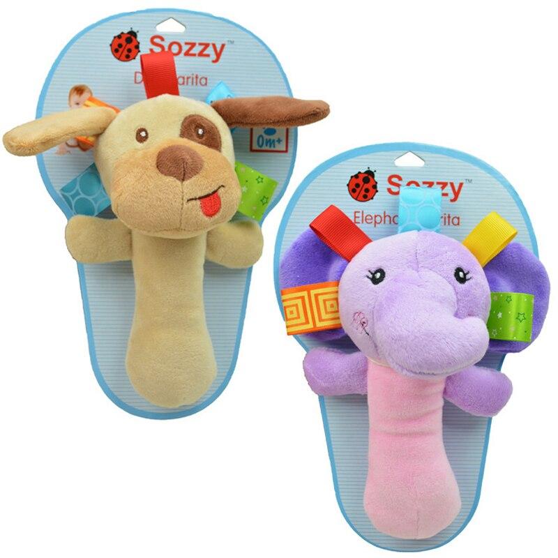 Nieuwe Baby Speelgoed Baby Multifunctionele Hand Bel Met Rammelaar - Speelgoed voor kinderen - Foto 2
