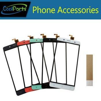 1 pc/lot alta calidad 5,5 ''para BQ BQS-5515 ancho BQS 5515 pantalla táctil digitalizador Touch Panel lente de vidrio con cinta 4 Color