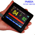 PM60A  Handheld Medical Health Pulse Oxygen Saturation SPO2 Monitor PR Monitor Oximeter Touch Screen Oximetry Oximetro de Pulso