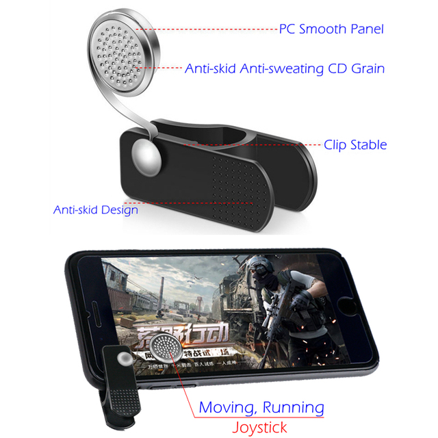 choifoo Knives out Rules of Survival Mobile Game Fire Button Aim Key phone Mobile Gaming Trigger Shooter Controller PUBG