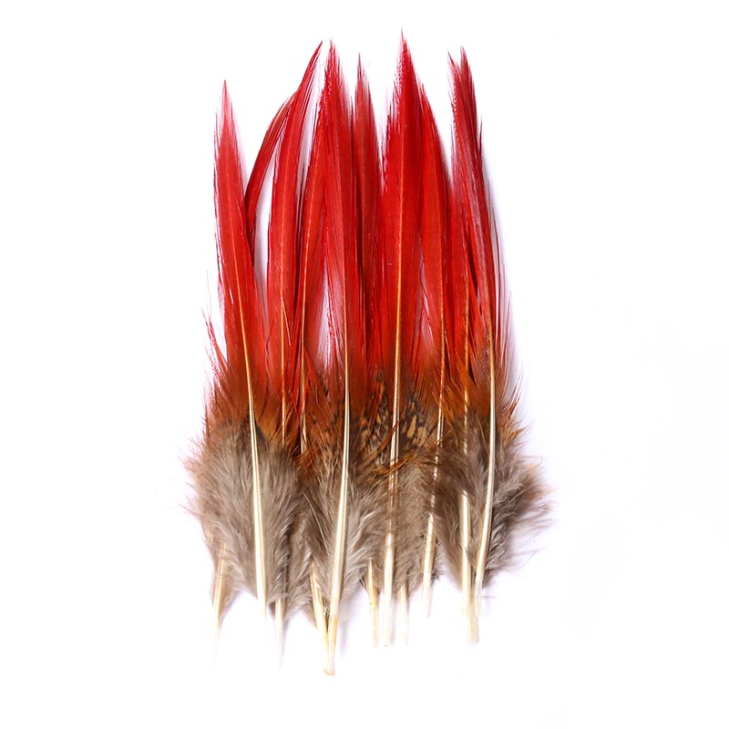 Accessories 30 Chicken Feather Natural Feather Wedding Crafts Natural Feathers 9 12CM Wedding Dress DIY Fluffy Decoration Suppli in Feather from Home Garden