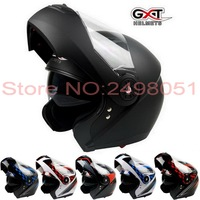 2017 New GXT Undrape Face Motorcycle Helmet Anti Fog Double Lens Flip Up Motorbike Helmets Full