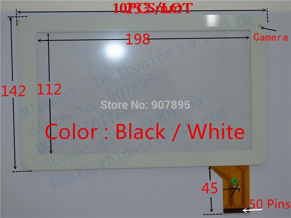 10pcS 9inch capacitive touch screen touchscreen panel  Glass  YTG-P90002-F1  ZHC-98V CZY6439A01-Fpc CZY6439A01 for tablet pc touchscreen for ft as00 12 1 a4 touch screen panel glass