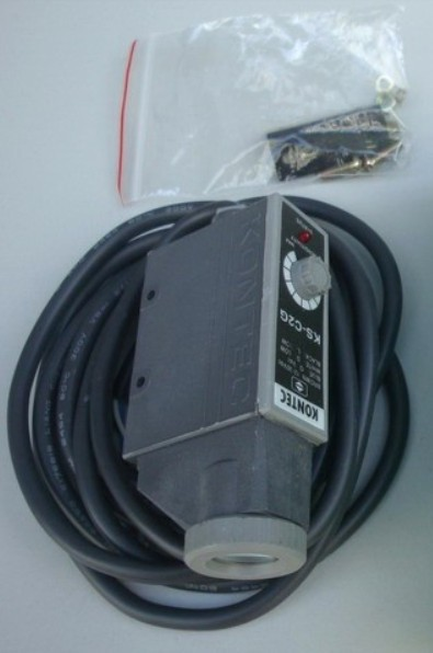 Kontec Photoelectric Switch KS C2G NPN 12mm 12 30VDC Red LED IP66 NIB
