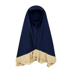 Image 3 - 2 PCS Muslim Kids Girls Hijab+Dress Islamic Prayer Abaya Scarf Jilbab Kaftan Set Arab Middle East Clothing Solid Color Suits New