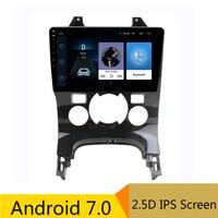 9 2.5D ips Android 7,0 DVD мультимедиа плеер gps для peugeot 3008 2006 2012 2013 2014 2016 аудио стерео радио навигации