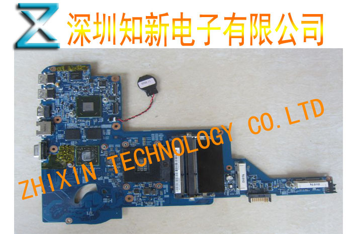 On sale 48.4QC05.0SC laptop motherboard for HP DM4-3000 HM67 Non-integrated DDR3 Full Tested 50% off shipping