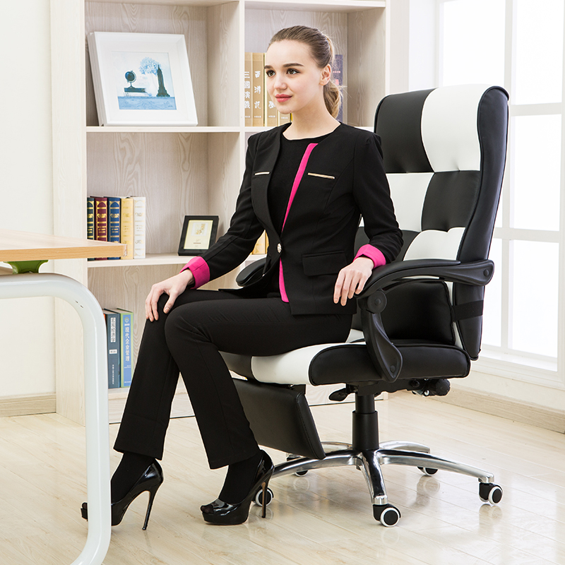 High Quality Ergonomic Executive Office Chair Lying Footrest Computer - Furniture - Photo 4