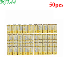 50pcs/pack 4LR44 Batteries L1325 6V Primary Dry Alkaline Battery Cells Car Remote Watch Toy Calculator