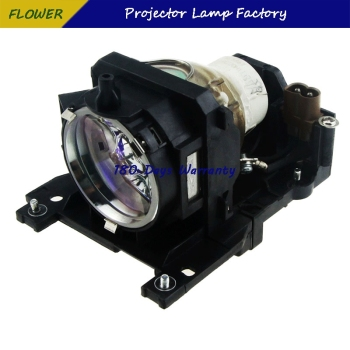 DT00911 Replacement Projector Lamp with Housing for HITACHI CP-WX401 /CP-X201/CP-X206 / CP-X301 / CP-X306 / CP-X401 / CP-X450 цена 2017