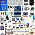 Adeept Eléctrica DIY Nuevo Último Starter Kit de Aprendizaje para Arduino UNO R3 con Guía Motor de Procesamiento del Libro del LED diy diykit