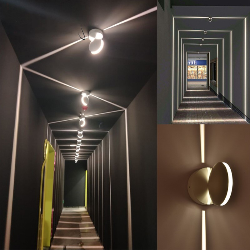 LED Night Light Balcony Window Light LED Aisle Corridor Porch light Outdoor LED Decoration Hotel Wall Door Spotlight Lighting