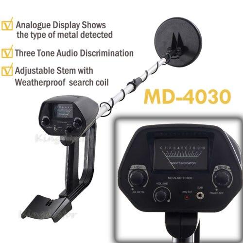Fabrik Professtional MD-4030 Unterirdischen Metalldetektor Gold Detektoren MD4030, Schatzjäger Detektorschaltung Metales