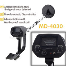 Factory Professtional MD-4030 Underground Metal Detector Gold Detectors MD4030, Treasure Hunter Detector Circuit Metales underground metal detector md4030 professiona gold digger treasure hunter length adjustable circuit metales under shallow water