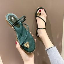 купить Slippers For Women 2019 Summer flat Flip Flops Casual Flats Shoes Woman Slides Beach Sandals with rhinestone Ladies Shoes homen по цене 792.67 рублей