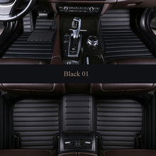 Custom  car floor mat For volvo xc90 s60 v40 s40 xc60 c30 s80 v50 xc70 waterproof Non-slip  Auto Foot accessories styling