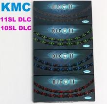 KMC X11SL DLC Bike Chain X10SL Cycle Bicycle Chain Derailleur Cadena 11V Speed MTB Road X10/X11 corrente parts Ultralight