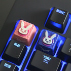 Mechanical Keyboard Zinc Aluminum Keycap Alloy Cool Full Metal Keycap R4 Special Key Cap For Overwatch And Teclado Mecanico