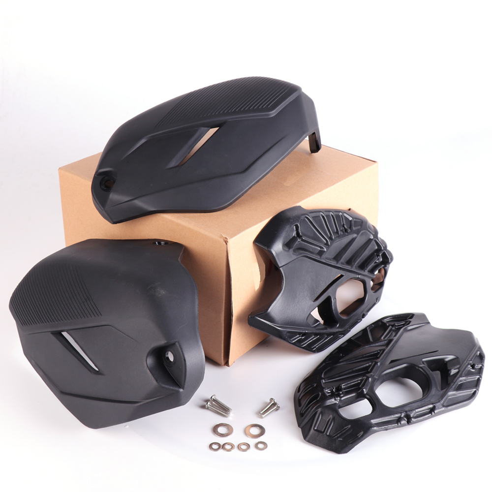 Cylinder Head Guards For BMW R1200GS LC 2014-2017 Engine Protector Cover For r1200gs adv For bmw r1200r lc 2015-2017 R1200RT LC areyourshop motorcycle cylinder guards upper crash bar trim plate for bmw r1200gs adventure lc 2013 2017 aluminum motor cover
