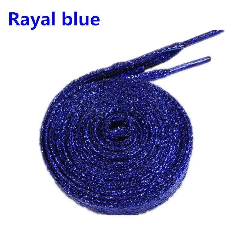 cadarços brilho brilhante bootlaces sparkly plana laços cor de natal cadarços