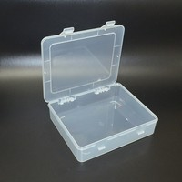 Transparent Plastic Boxes Metal Tools Boxes Of Parts Component Boxes Stationery Bills Box Finishing Accessories