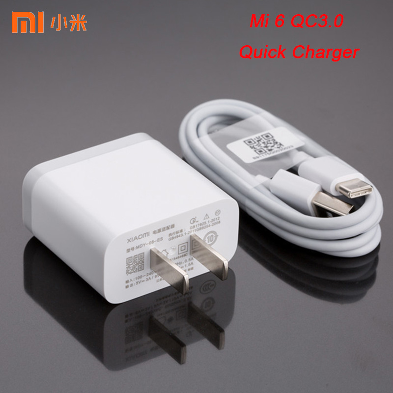 XIAOMI Adapter Cable Quick-Charger QC3.0 K20 Pro Note-7 Micro-Usb/type-C 2-Redmi 9T Original