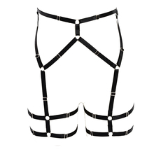 Underwear Garters Belt Women High Quality Sexy Lingerie Lady Girl Elastic Goth Leg Soft Wear Body Harness Geometric