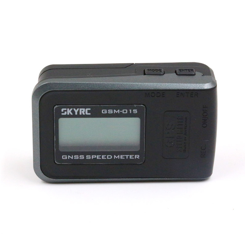 SKYRC GSM 015 GNSS Speed Meter High Precision GPS GLONASS Reception Speed Altitude Meter w Rechargeable