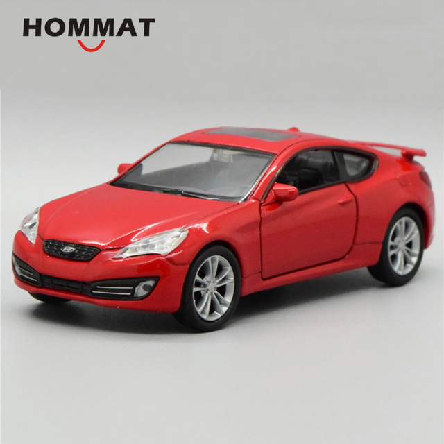 Hommat Simulation 1 36 Welly Hyundai Genesis Coupe Vehicle Car Alloy Cast Toy Model