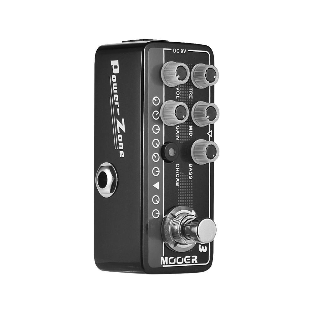buy new mooer micro preamp series003 power zone american style high gain. Black Bedroom Furniture Sets. Home Design Ideas