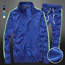 2016 neue Marke-Kleidung Trainingsanzüge herren Patchwork Sport Jacken + hosen Mens Hoodies Und Sweatshirts Outwear Anzüge männer sets