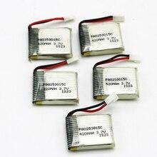 5pcs lot Rc lipo font b Battery b font 3 7V 420mAh 15C Lipo font b