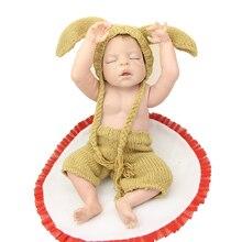 Reborn Baby Dolls 55CM /22Inch Full Body Silicone Vinyl Realistic Newborn Babies Kids Birthday Christmas Gift