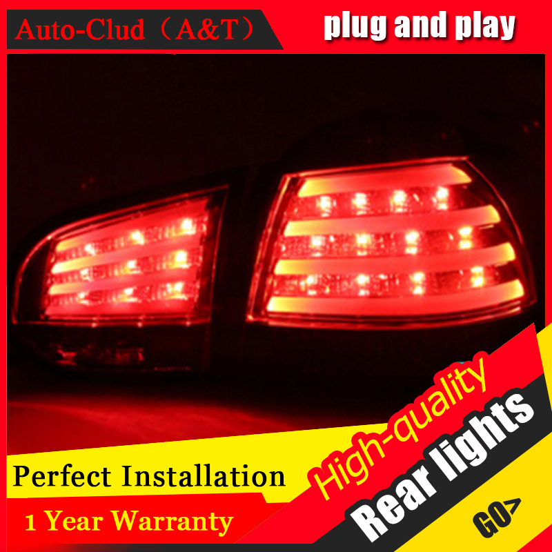 AUTO.PRO vw 2009-2013 golf mk6 led taillights VW golf 6 led tail lamps car styling golf 6 led rear lights led light guide car styling rear bumper led brake lights warning lights case for vw golf 7 2013 2015 accessories good quality