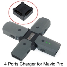 4 In 1 Battery Rapid Charging Charger Hub For DJI Mavic Pro Platinum Snow font b