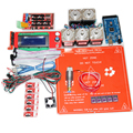 Контроллер Комплект Подогревом кровать MK2A + Nema17 шагового двигателя + A4988 + Рампы 1.4 + Mega2560 R3 + 2004LCD + горячий конец