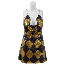 Harley Quinn Nightclub Cosplay Dress