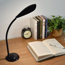 Flexible LED Desk Lamp 3-Level Brightness Touch Sensor Eye-caring Dimmable Table Light for Kids Reading Studying Soft Warm Light