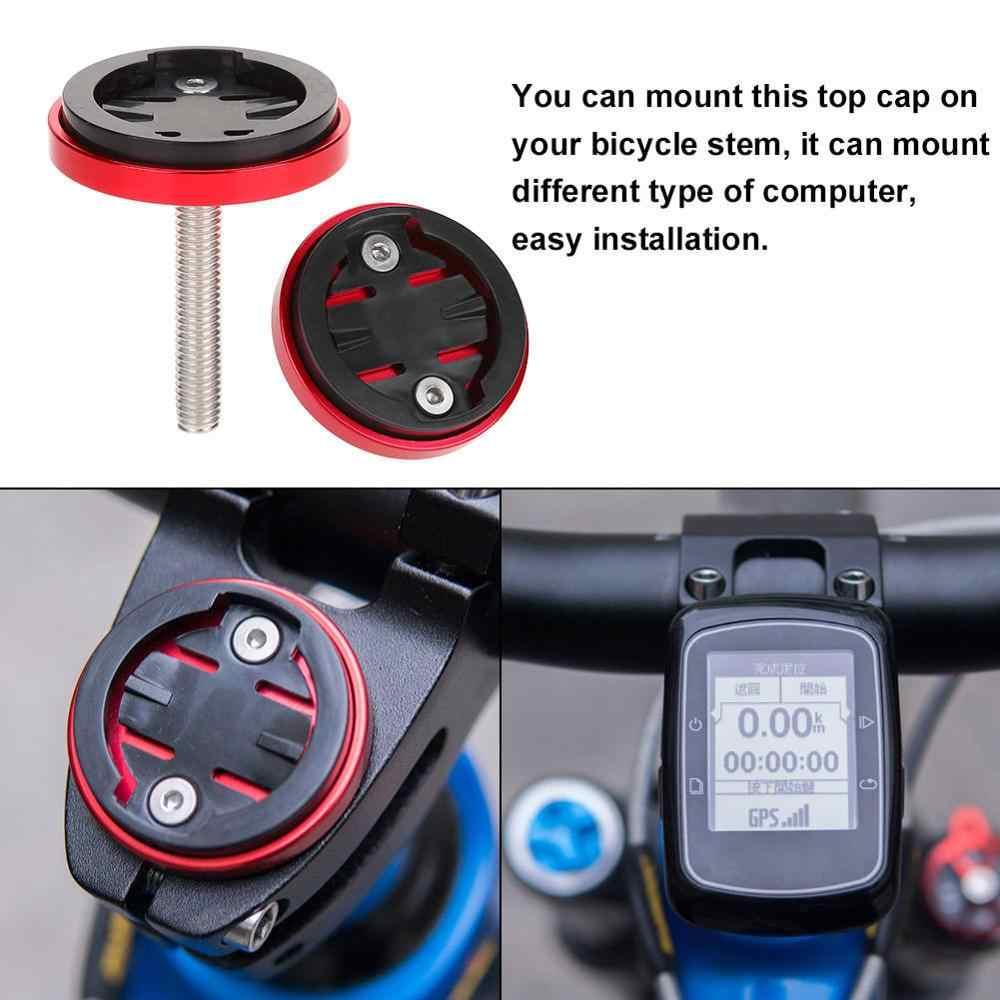 אופניים מחשב מחזיק חם MTB כביש אופני גזע למעלה שווי bisiklet סטופר מד מהירות GPS הר Bracket עבור Garmin Bryton Cateye