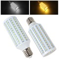 Hot Sale 35W 2300LM E40 165 x 5050 SMD LED Light High Bright Warm White / White Corn Bulb