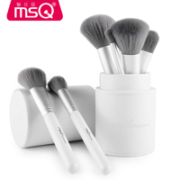 New Arrival Makeup Brushes professional Cosmetics brush Set 12pcs High Quality top Synthetic Hair With White Cylinder brush set