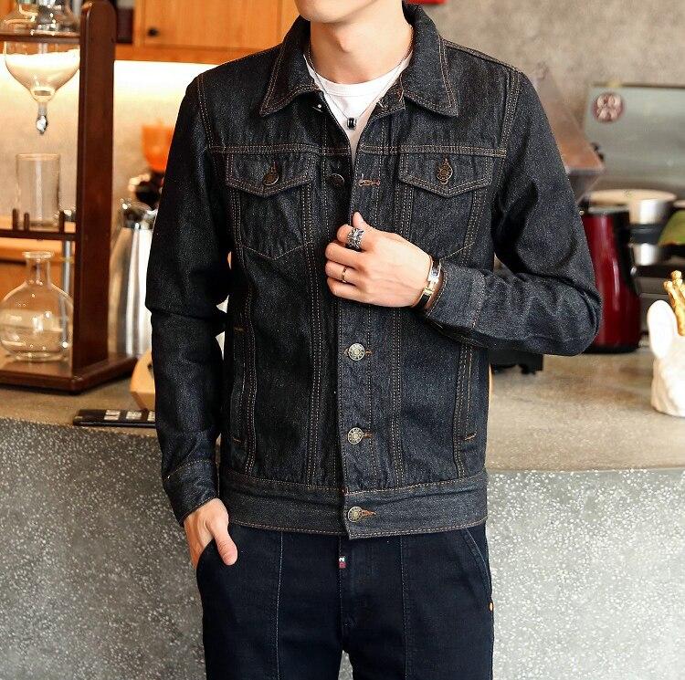 HTB1TZD8bifrK1RjSspbq6A4pFXaO DIMUSI Spring Autumn Mens Denim Jacket Mens Trendy Fashion Bomber Thin Ripped Denim Jacket Male Cowboy Jeans jackets 4XL,TA341